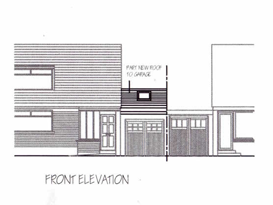 Garage Conversion | Front Elevation