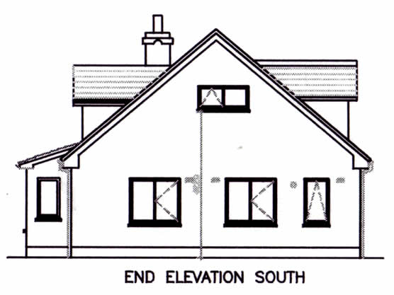 End Elevation South