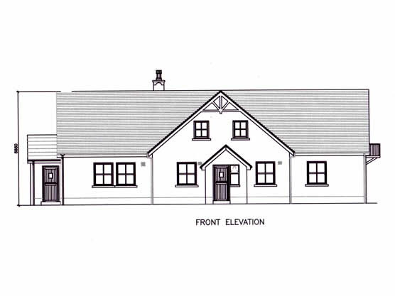 Designer House, Wicklow | Front Elevation